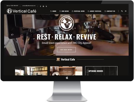 vertical cafe
